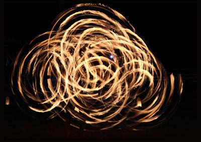 fire-twirling